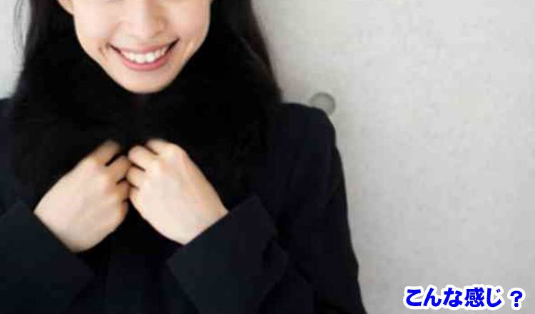 黒い服の女