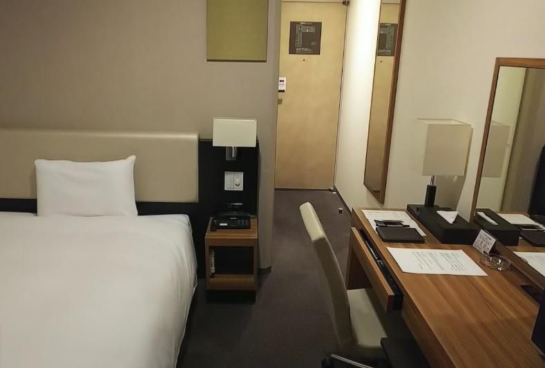 三井ガーデンホテルベッドルーム