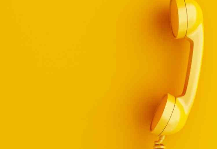 出会い系サイト内の電話サービスを使いたがるイメージ