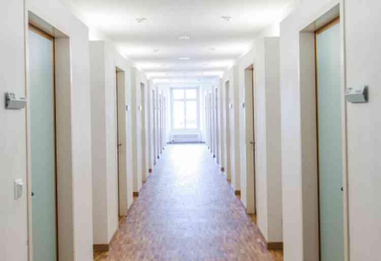 案内されたホテルのイメージ