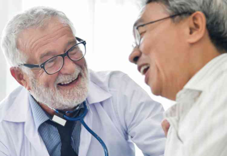 ABCクリニックに来店して診察・カウンセリングイメージ
