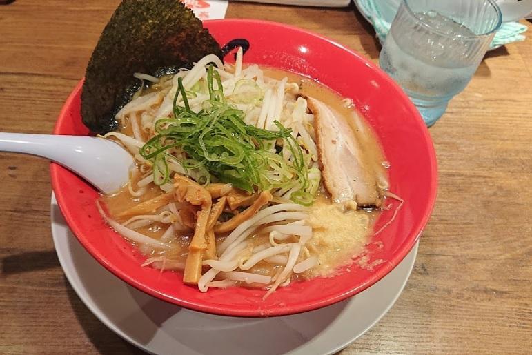 旭川味噌ばんからラーメンのメニュー