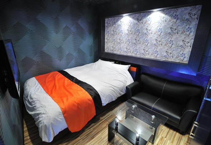 ホテルエメラルドの部屋