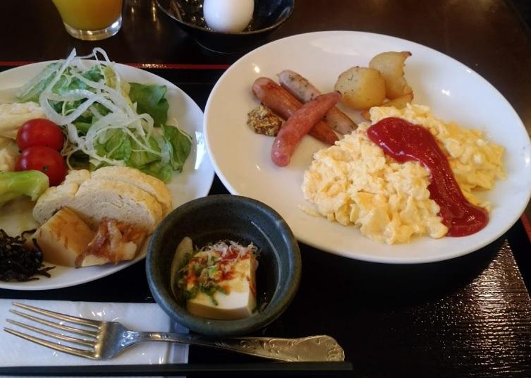 アパホテルの朝食