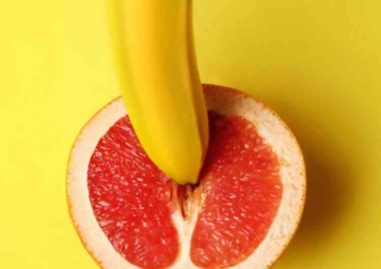 バナナ挿入
