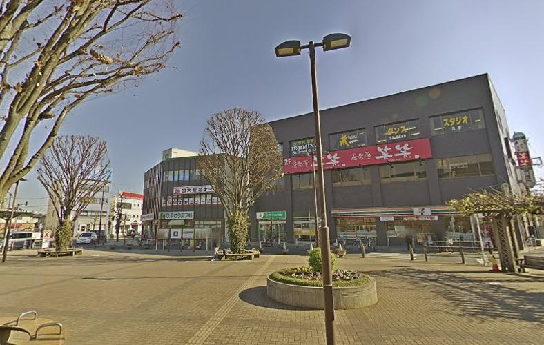 待ち合わせ場所の久喜駅東口