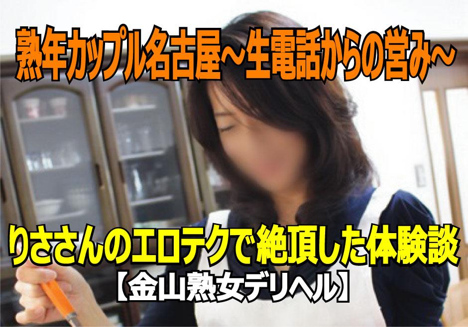熟年カップル名古屋~生電話からの営み~のトップ画像