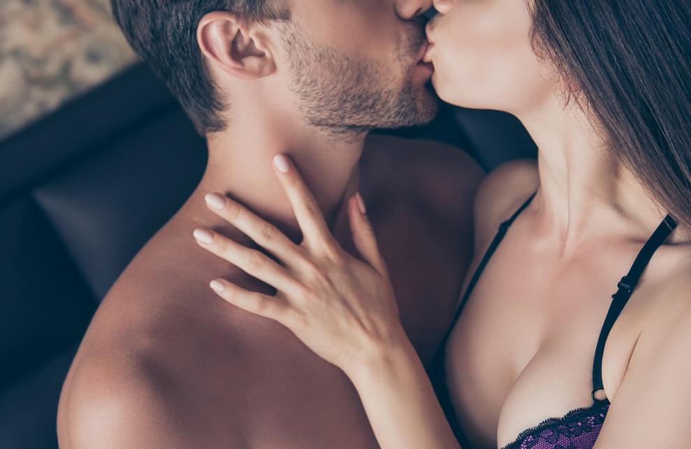 レイラさんとキス