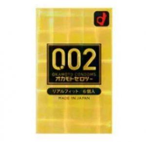 オカモト002リアルフィットコンドーム