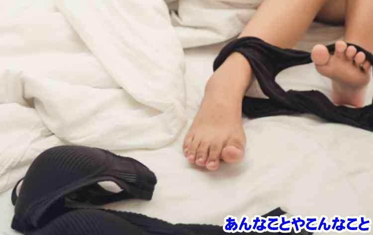 ベッドの女