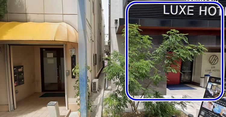 ホテルの場所